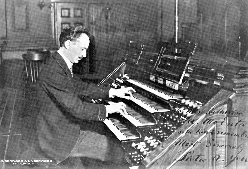 ietro Yon, most popular composer in the Collection, composed the Christmas carol, Gesu Bambino