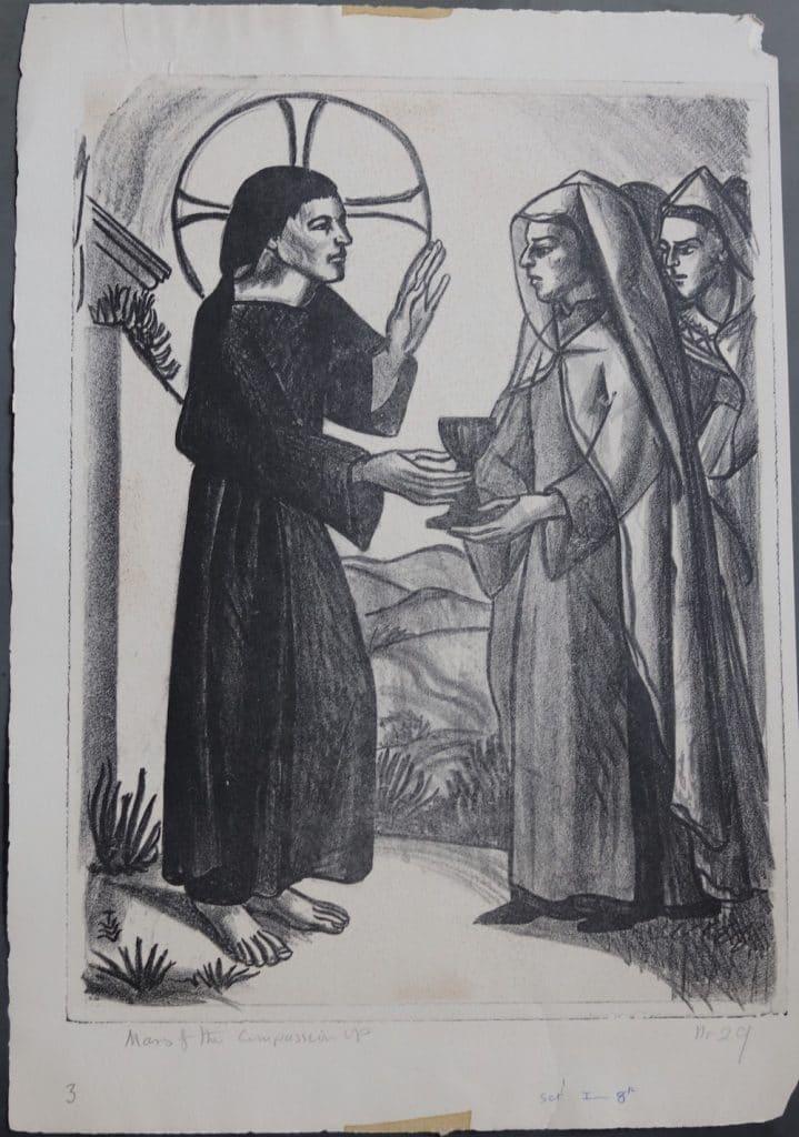 the women of Jerusalem weep over Jesus,