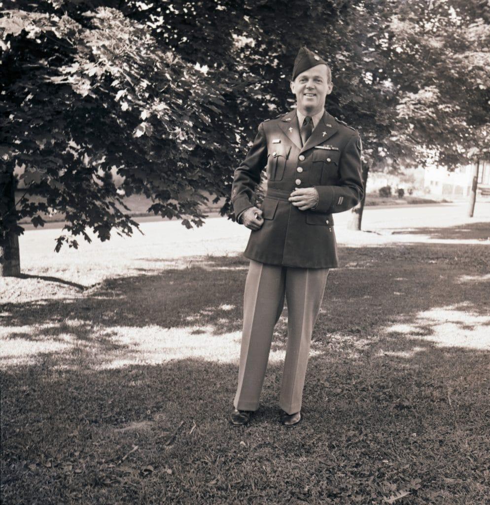 Reverend Edward P. Doyle, 1943